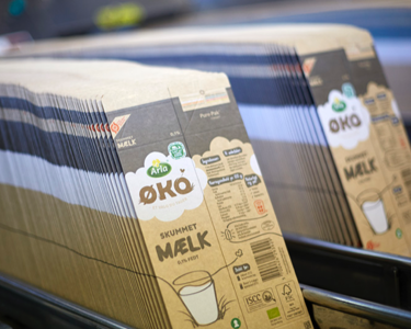 Sustainable packaging arla